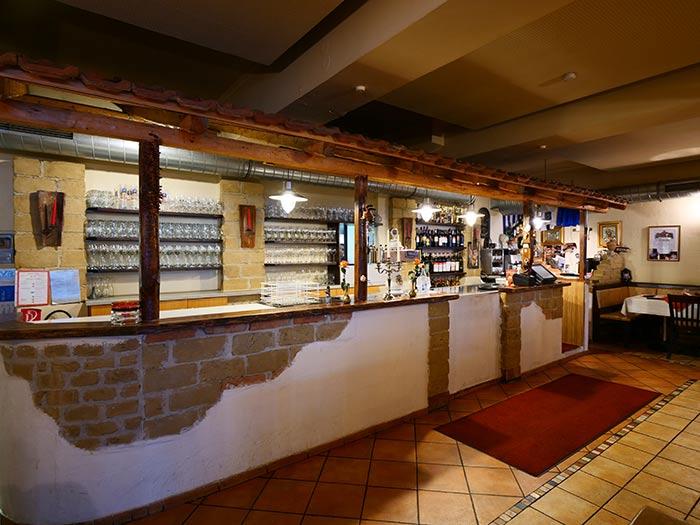 Interieur aus der Taverna Corfu