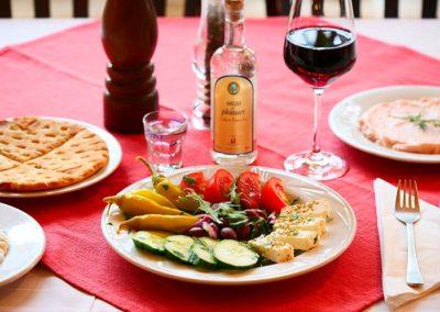 Original griechischer Wein aus der Taverna Corfu